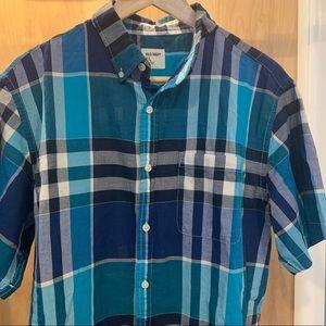 Mens Causal Button Down Shirt
